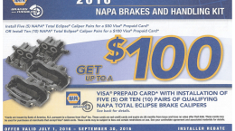 $100 REBATE - July - September 30, 2016